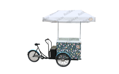 Торговые вело-тележки